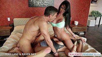 Brunettes Tory Lane and Raven Bay gets facialized