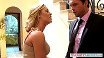 Sexy blondie Nicole Aniston gets nailed 8 min