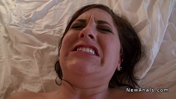 Amateur girlfriend trying anal sex pov in homemade sex tape 8 min