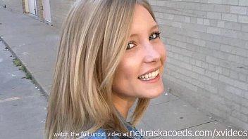 fucking amazing hot blonde girlfriend being filmed by ex boyfriend 15 min