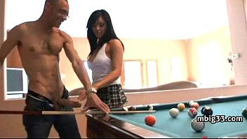 Hot girl speared by a black monster cock