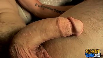Hot straight stud Nolan showing his huge monster cock