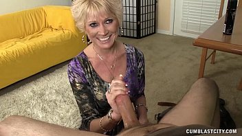 Topless Granny Splattered WIth Cum 4 min