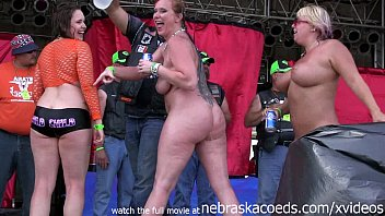 hottest milf contest at the abate of iowa biker rally