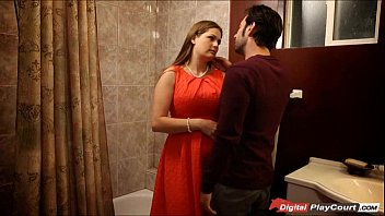 MILF Allison get pounded in the bathroom
