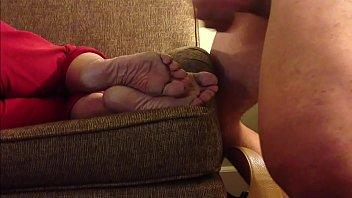Aunt Feet Cumshot Compilation