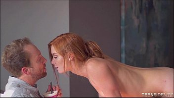 Freckled Faced Redhead Teen Alex Tanner Loves Older Big Cock