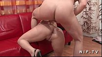 Pretty french redhead ass pounded