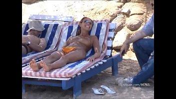 Monika L 01 public flasfing in Egypt