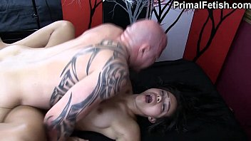 Interracial Erotic Massage w/Wild Orgasms and Fucking