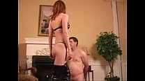femdomtube.Redhead female bitch slaps male   Femdom Tube - Free femdom videos
