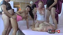 Amanda   Lara spielen mit Muschi und 4 Schwänzen - SPM AmandaLaraTR98