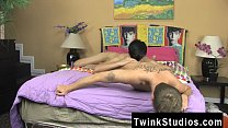 Gay twinks Jae Landen and Keith Conner are just pals h. out on