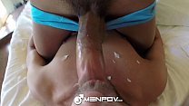 HD MenPOV - Two hot guys sexy bed time