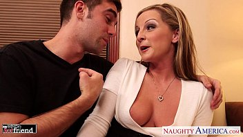 MILF in high heels Melissa Matthews gets fucked and facialized 9 min