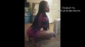 visit FreshNewFaces.club ~ Sexy 20 yr old ebony amateur sells herself short