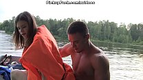 Three men in a boat (to say nothing of a pick up girl) scene 3