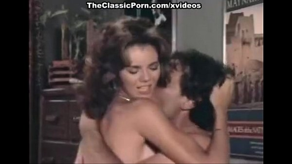 Angel, John Leslie in hot sex scene from the golden age of porn