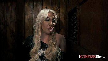 ConfessionFiles: Big Tit Blonde Rides the Priest 31 min
