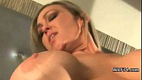 Trashy hot MILF is horny for a fuck