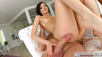 All Internal hottie Lina gets her holes filled in threesome 15 min