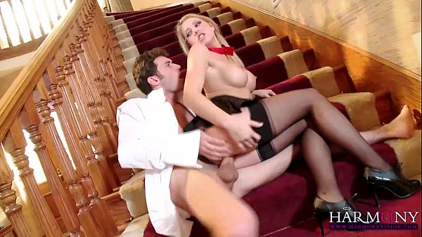 HARMONY VISION Young Harlot doing the headmaster James Deen