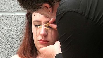 Tearful Needle Torments and Bizarre Facial Punishment of enslaved dungeon Nimue
