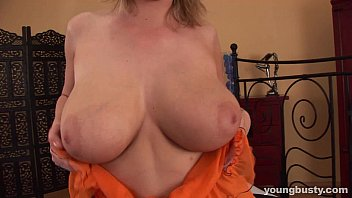 Busty young Rachel gets fucked and jizzed