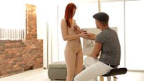 Redhead Amber Cute Gets Her Ass Fucked - EroticVideosHD.com
