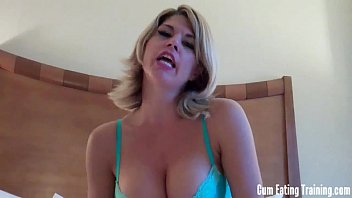 If you jerk off you have to eat your cum CEI