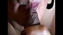 Foreskin play with jizz flow and consume