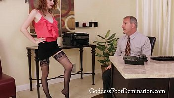Emma dirty stocking office trailer