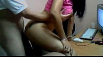 Indian couple in doggy style