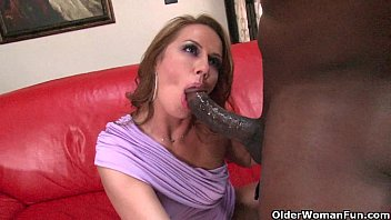 Soccer milf fucked by big black cock
