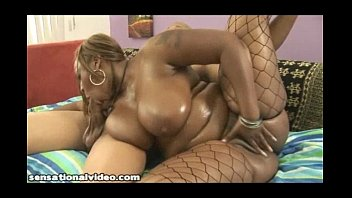 Big Booty Black Babe Gets Her Big Ass Fucked and Oiled Up