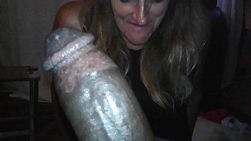 Kellie enjoys suckin on a big black cock.