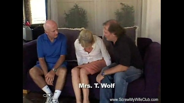 Blonde Swinger Slut Mrs. Wolf a.