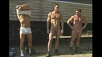Police running naked