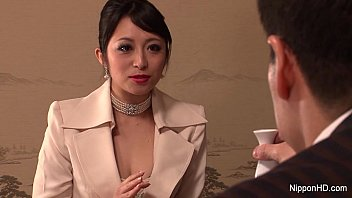 Japanese Business babe gets fucked 7 min