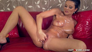 She Fingers Her Dripping Wet Pussy