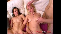 Those chicks love to lick each other while they get fucked. French amateur