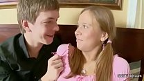 Bro Caught Petite Step-Sister and Show how get pregnant