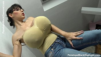Penelope Black Diamond - Milking Tits - breastfeeding Boobs   Preview