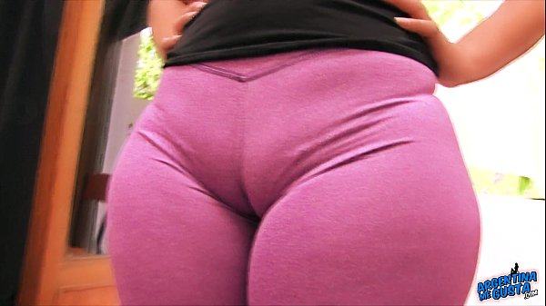 HUGE ASS - TINY WAIST. The Perfect Fuck Doll! Cameltoe & Ass
