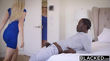 BLACKED Stepsisters Trillium and Niki Snow First Interracial