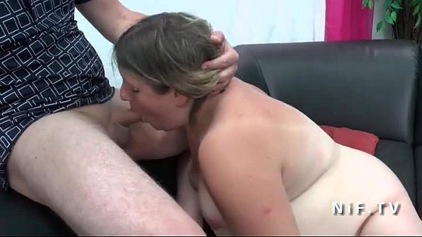 Amateur french bbw hard anal plugged for her casting couch