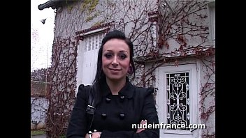 Sexy french emo slut banged hard and jizzed on a foot