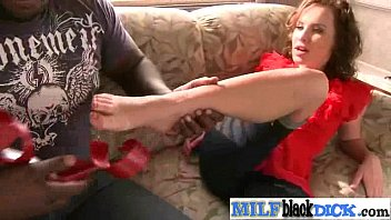 Mature Lady (katie st ives) On Big Monster Black Dick clip-12