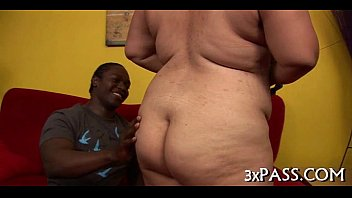 Man bangs sexy obese playgirl