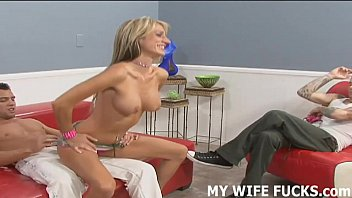 Your wife loves taking pornstar cock while you watch